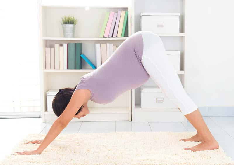 Yoga Poses for Pregnant Women 6