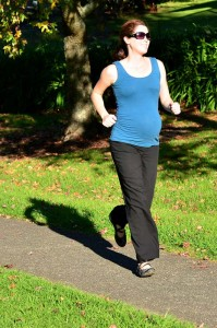 Sollten Frauen während der Schwangerschaft laufen? 1