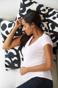 Besser schlafen, bevor das Baby kommt