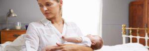 Was ist eine postnatale Depression?
