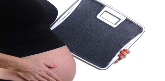 Gewichtszunahme während der Schwangerschaft