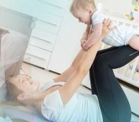 How to Get a Flat Tummy Postpartum; Even After a C-section! 1