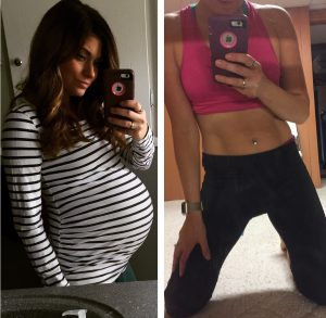 How to get a FLAT Tummy Postpartum; Even After a C-section!