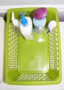 Easy Two-Minute DIY Diaper Caddy with Simple Organization Hacks