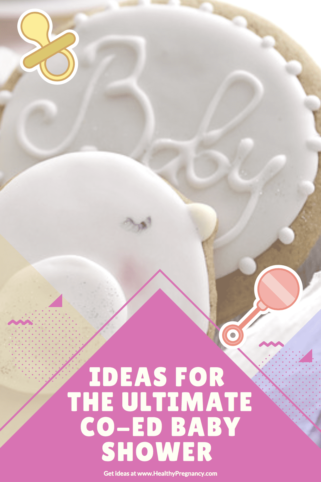 Ideas for Planning the Ultimate Co-Ed Baby Shower