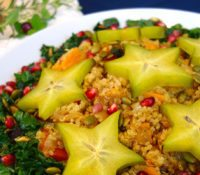 A Healthy Holiday Side Dish of Festive Quinoa Salad 2
