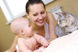 Building a Family; Introducing New Baby to Pets  1