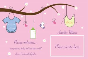 Tips for Creating the Perfect Birth Announcement