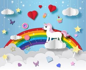 Rainbow Baby Nursery Crafts