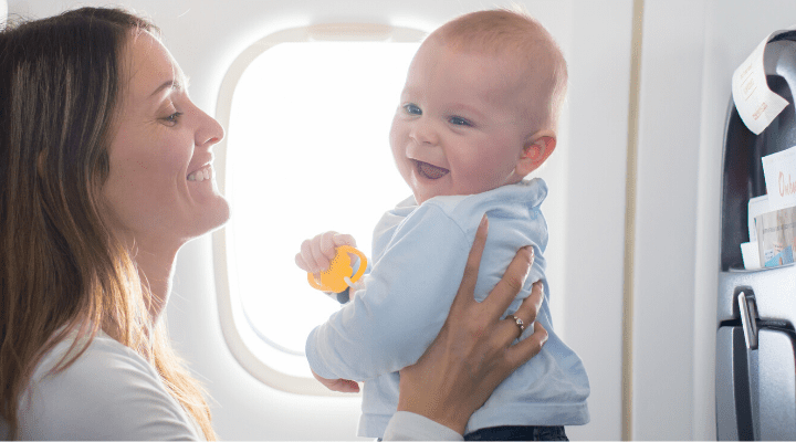 Tips and Advice for Traveling with a Baby 1