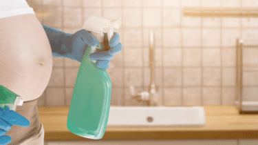 Deep-Cleaning Your Home During the Nesting Phase